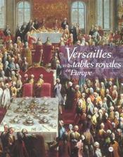 Versailles et tables royales - Intérieur - Format classique