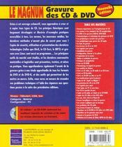 Le Magnum Gravure Cd Et Dvd - 4ème de couverture - Format classique