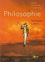 Philosophie ; terminales L ES S - Couverture - Format classique