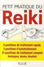 Petit pratique du reïki - Intérieur - Format classique