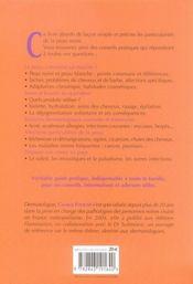 Peau noire ; cosmétologie et dermatologie - 4ème de couverture - Format classique