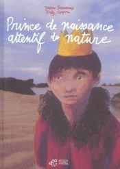 Prince de naissance attentif de nature - Intérieur - Format classique