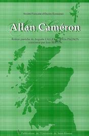 Allan cameron roman pastiche publie en 1841 - Intérieur - Format classique