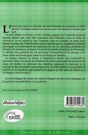 Allan cameron roman pastiche publie en 1841 - 4ème de couverture - Format classique