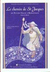St-jacques du puy a roncevaux gr65 - Couverture - Format classique