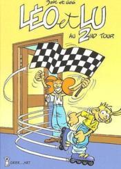 Léo et Lu t.2 ; au second tour - Couverture - Format classique