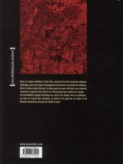 Le vent des dieux t.6 à t.10 ; intégrale - 4ème de couverture - Format classique