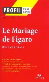 Le mariage de figaro de Beaumarchais - Intérieur - Format classique