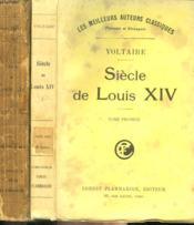 Siecle De Louis Xiv. En 2 Tomes. - Couverture - Format classique