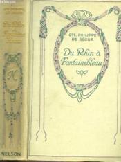 Du Rhin à Fontainebleau. - Couverture - Format classique