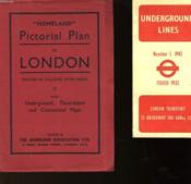 Pictorial Plan Of London - Couverture - Format classique