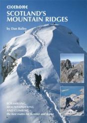 **Scotland S Mountain Ridges - Couverture - Format classique