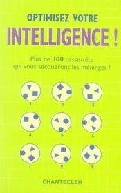 Optimisez votre intelligence ! - Intérieur - Format classique