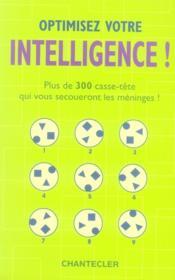 Optimisez votre intelligence ! - Couverture - Format classique