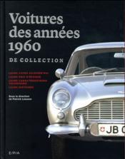 Les voitures de collection des années 60 - Couverture - Format classique
