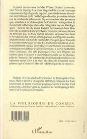 Ethiques Du Desenchantement - 4ème de couverture - Format classique