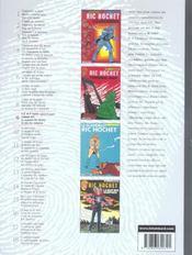 Ric Hochet ; INTEGRALE VOL.9 - 4ème de couverture - Format classique