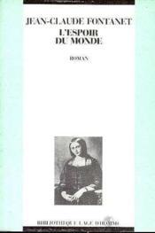 L'Espoir Du Monde - Couverture - Format classique