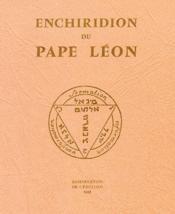 Enchiridion du pape Léon - Couverture - Format classique