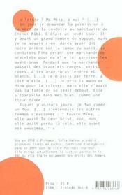 Confiture d'orange - 4ème de couverture - Format classique