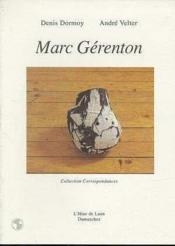 Marc gerenton - Couverture - Format classique