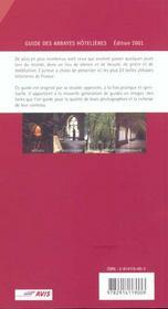 Guide etape des plus belles abbayes hotelieres - 4ème de couverture - Format classique