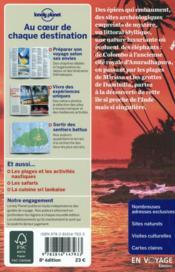 Sri Lanka (8e édition) - 4ème de couverture - Format classique
