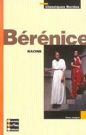 Bérénice - Intérieur - Format classique