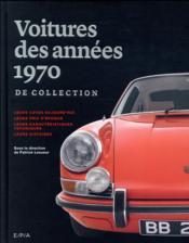 Les voitures de collection des années 70 - Couverture - Format classique
