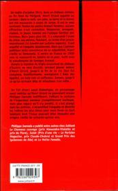La serpe - 4ème de couverture - Format classique