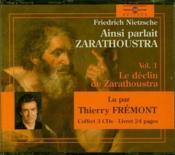 Ainsi parlait Zarathoustra t.1 - Couverture - Format classique