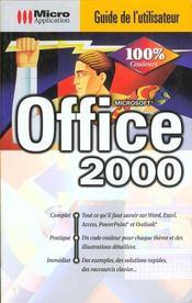 Office 2000. Microsoft - Intérieur - Format classique