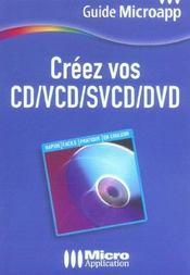 Creez vos cd/vcd/svcd/dvd - Intérieur - Format classique