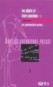 Analyse Freudienne T.11 - Intérieur - Format classique