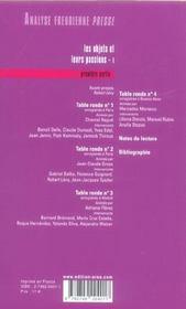 Analyse Freudienne T.11 - 4ème de couverture - Format classique