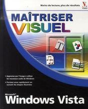 Maîtriser windows vista visuel - Intérieur - Format classique