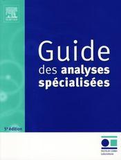 Guide des analyses spécialisés - Intérieur - Format classique