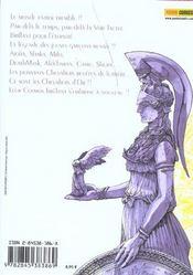 Saint Seiya G t.1 - 4ème de couverture - Format classique