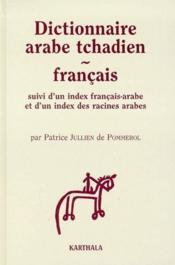 Dictionnaire arabe tchadien-français - Couverture - Format classique