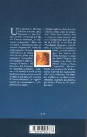 Colette - 4ème de couverture - Format classique
