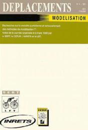 Deplacements n.4 : modelisation. - Couverture - Format classique