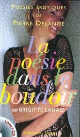 La poesie dans le boudoir + cd - Intérieur - Format classique