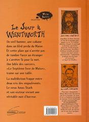 Le jour a wentworth - 4ème de couverture - Format classique