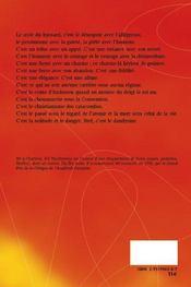 Roger Nimier ; le grand d'Espagne - 4ème de couverture - Format classique
