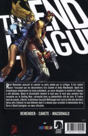 The end league t.2 ; icônes vieillissantes - 4ème de couverture - Format classique