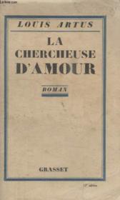 La Chercheuse Damour. - Couverture - Format classique