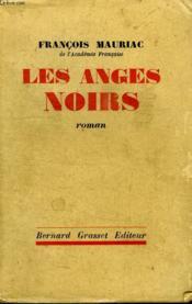 Les Anges Noirs. - Couverture - Format classique