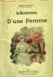 L'Automne D'Une Femme. Collection Modern Bibliotheque. - Couverture - Format classique