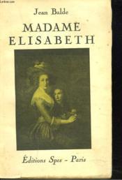 Madame Elisabeth - Couverture - Format classique