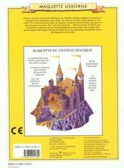 Construis Ton Chateau Magique - 4ème de couverture - Format classique